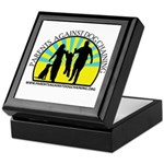 Parents Against Dog Chaining Keepsake Box