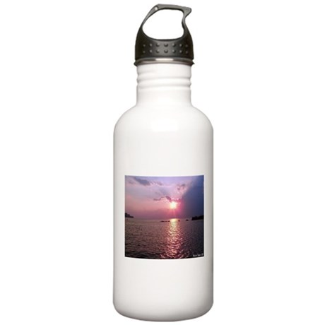 Lake Erie Sunset Stainless Water Bottle 1.0L