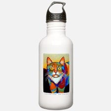 Cat-of-Many-Colors Water Bottle