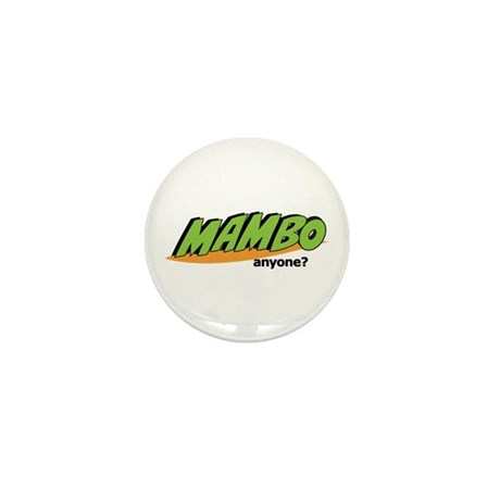 CRAZYFISH mambo anyone? Mini Button