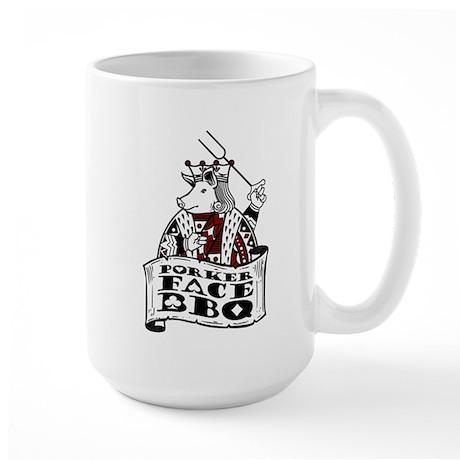 Porker Face Large Mug