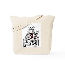 Porker Face Tote Bag