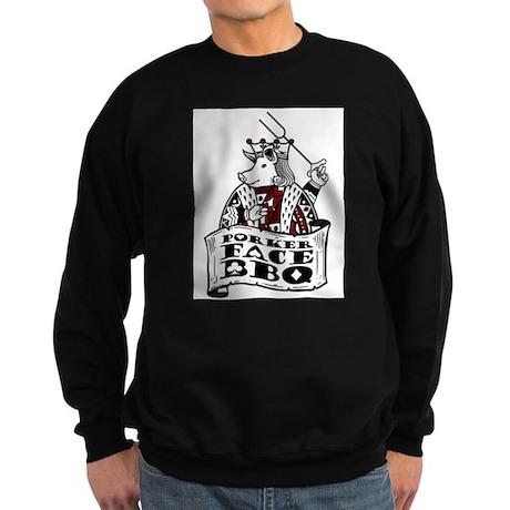 Porker Face Sweatshirt (dark)
