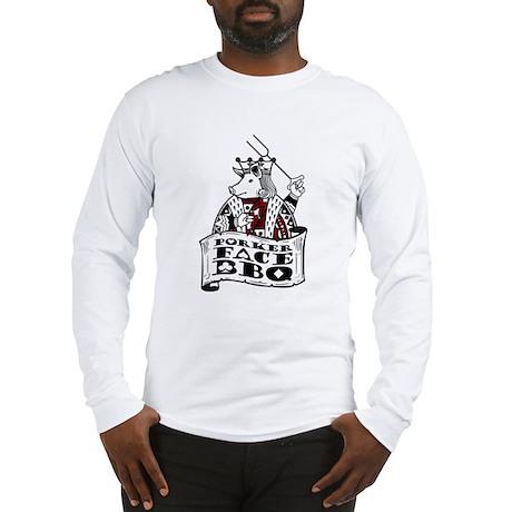 Porker Face Long Sleeve T-Shirt