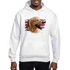 """Golden Retreiver """"Great Britain"""" Hoodie"""