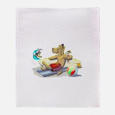 sUrF DoG Throw Blanket