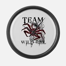 Team Wild Bill Large Wall Clock