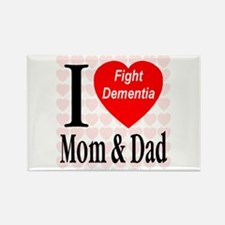 Fight Dementia Rectangle Magnet