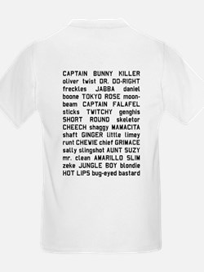 Sawyer Nicknames T-Shirt