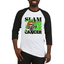 Slam Dunk Cancer Lymphoma Baseball Jersey