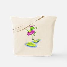 Dancing Lily Tote Bag