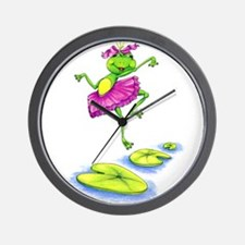 Dancing Lily Wall Clock