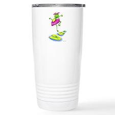 Dancing Lily Travel Mug