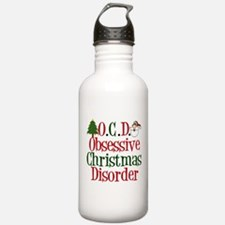 Christmas Crazy Water Bottle
