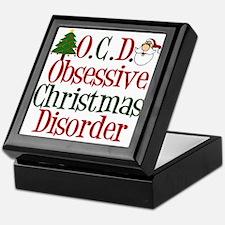 Christmas Crazy Keepsake Box