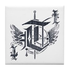 The Elite (letter T) Tile Coaster