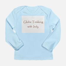 Globe Trekking w/Indy Long Sleeve Infant T-Shirt