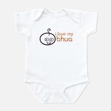 Infant Creeper: I LOVE MY BHUA