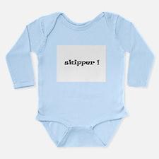 Skipper! Long Sleeve Infant Bodysuit