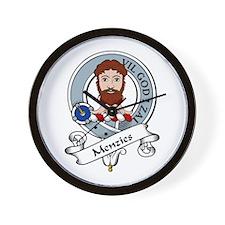 Menzies Clan Badge Wall Clock