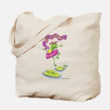 Lily says 'It's a Girl!' Tote Bag