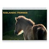 Icelandic horse Wall Calendars
