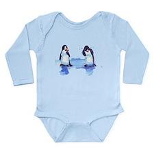 pEnGuIn tEaRs Long Sleeve Infant Bodysuit