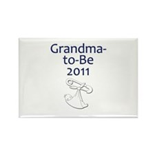 Grandma-to-Be 2011 Rectangle Magnet