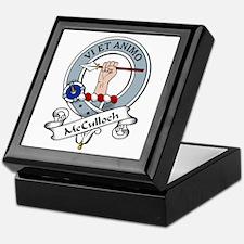 McCulloch Clan Badge Keepsake Box