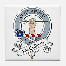 McCulloch Clan Badge Tile Coaster