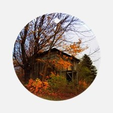 Autumn Shed Ornament (Round)