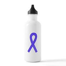 Periwinkle Ribbon Water Bottle