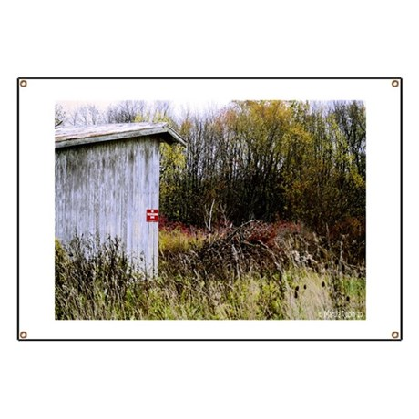 Country Shed Banner