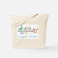 Kayak Math Tote Bag