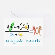 Kayak Math Greeting Cards (Pk of 20)