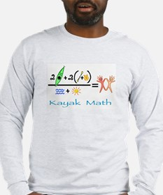 Kayak Math Long Sleeve T-Shirt