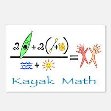 Kayak Math Postcards (Package of 8)