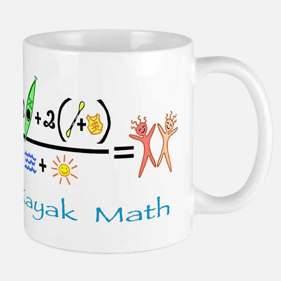 Kayak Math Mug