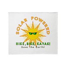 Solar Powered Throw Blanket