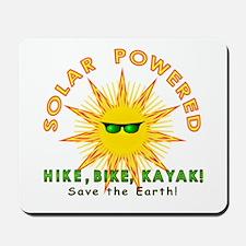 Solar Powered Mousepad