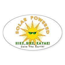 Solar Powered Decal