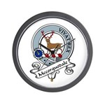 Mccorquodale Clan Badge Wall Clock
