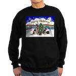 X-Music #1-2G-Sheps,2cats Sweatshirt (dark)