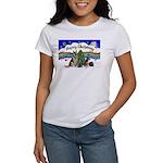X-Music #1-2G-Sheps,2cats Women's T-Shirt