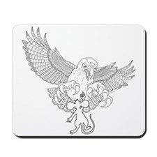 Last Great Act of Defiance - lineart - Mousepad