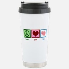 Peace Love Pigs Stainless Steel Travel Mug