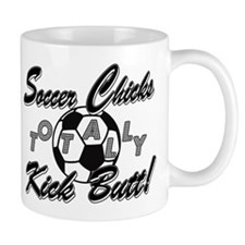 Soccer Chicks Kick Butt! Mug