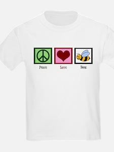 Peace Love Bees T-Shirt