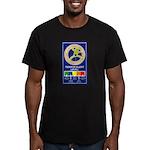 Terroe Alert Men's Fitted T-Shirt (dark)