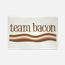 Team Bacon Rectangle Magnet